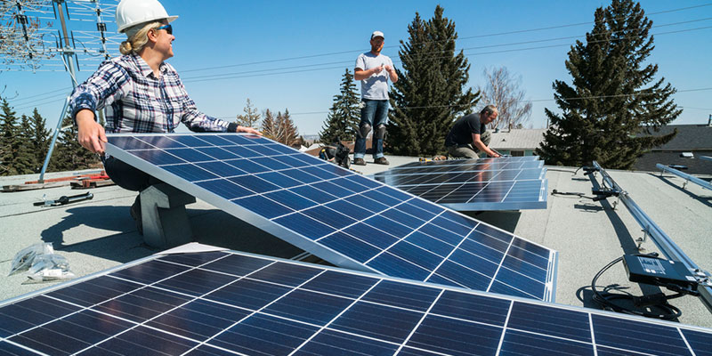Equipping your property with solar energy equipment