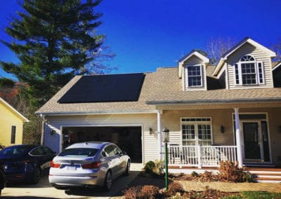 Beautiful homes with solar